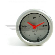 Clock Telemetric 52 mm Dia  Aluminium Rim