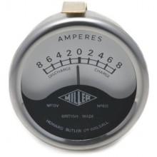 Ammeter 8-0-8 Miller Logo
