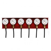 Set of 6 Vacuum Gauges
