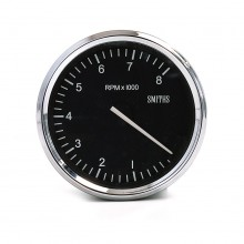 Smiths Classic Motorsport 100mm Tachometer - 0-8000 rpm