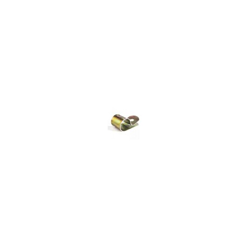 Zinc Plated Steel Cable Clip 12.7mm (5mm Fixing Hole) image #1