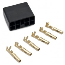 Connector Kit 6-way for Hazard Rocker Switch