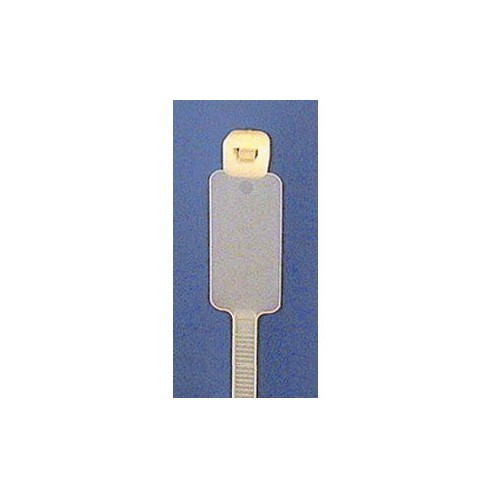 Cable Tie 5mm x 195mm White - Writing Tag image #1