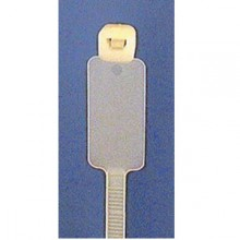 Cable Tie 5mm x 195mm White - Writing Tag