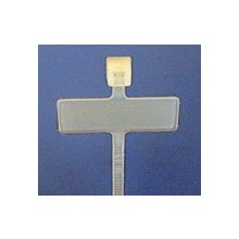 Cable Tie 3mm x 95mm White - Writing Tag