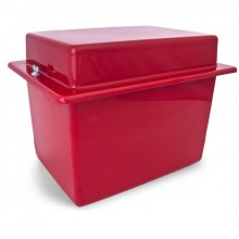Battery Box - Red