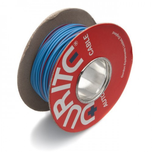 Wire 14/0.30mm Blue/Red (per metre) image #1