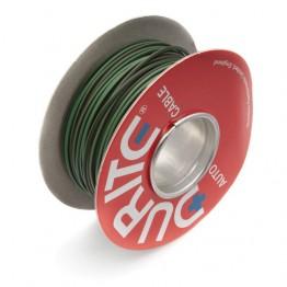Wire 14/0.30mm Green/Brown (per metre)