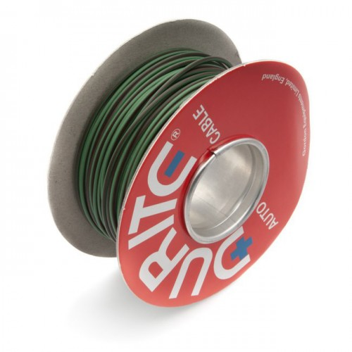 Wire 14/0.30mm Green/Brown (per metre) image #1