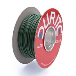 Wire 14/0.30mm Green/Purple (per metre)