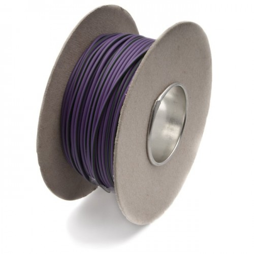 Wire 14/0.30mm Purple/Green (per metre) image #1
