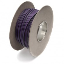 Wire 14/0.30mm Purple/Green (per metre)