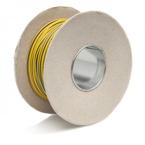 Wire 14/0.30mm Yellow/Green (per metre) image #1
