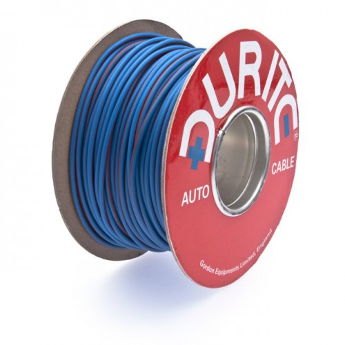 Wire 17 amps: 28/0.30mm Blue/Red (per metre) image #1