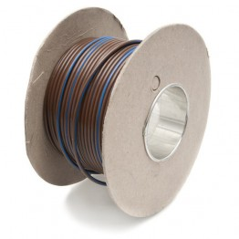 Wire 17 amps: 28/0.30mm Brown/Blue (per metre)