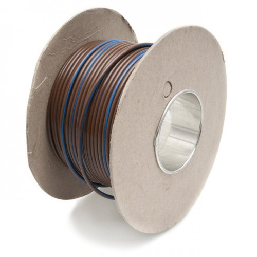 Wire 17 amps: 28/0.30mm Brown/Blue (per metre) image #1