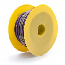 Wire 17 amps: 28/0.30mm Purple/Yellow (per metre)