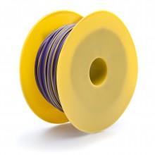 17 amps: 28/0.30mm Purple/Yellow (per metre)
