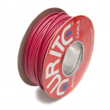 Wire 17 amps: 28/0.30mm Red (per metre)
