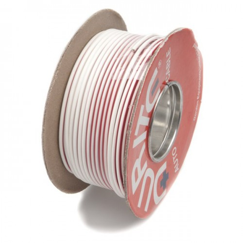 Wire 17 amps: 28/0.30mm White/Red (per metre) image #1