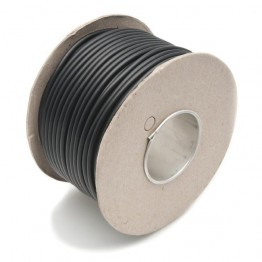 Wire 25 amps: 44/0.30mm Black (per metre)