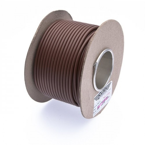 Wire 25 amps: 44/0.30mm Brown (per metre) image #1