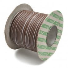 Wire 25 amps: 44/0.30mm Brown/White (per metre)