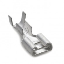 6.4mm Straight Lucar Connector for 28/0.30 wire