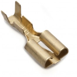 6.4mm Straight Lucar Connector