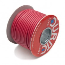 Wire 42 amps: 84/0.30mm Red (per metre)