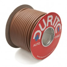 Wire 42 amps: 84/0.30mm Brown (per metre)