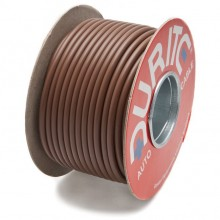 Wire 35 amps: 65/0.30mm Brown (per metre)