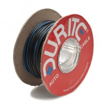 Wire 14/0.30mm Black/Blue (per metre)