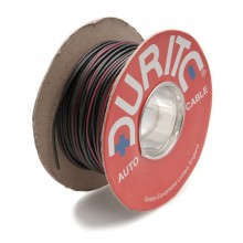 Wire 14/0.30mm Black/Red (per metre)