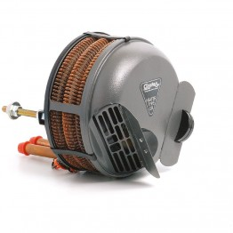 Smiths Type Circular Heater - Straight Water Pipes  No Demis