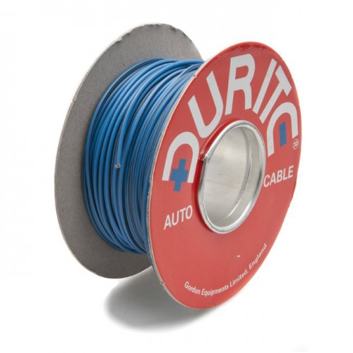 Wire 14/0.30mm Blue/Brown (per metre) image #1