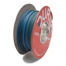 Wire 14/0.30mm Blue/Green (per metre)