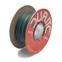 Wire 14/0.30mm Green/Blue (per metre)