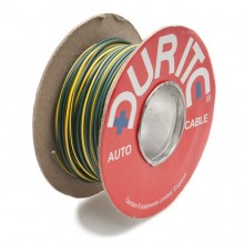 Wire 14/0.30mm Green/Yellow (per metre)