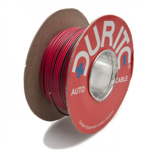 Wire 14/0.30mm Red/Black (per metre) image #1