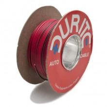 Wire 14/0.30mm Red/Black (per metre)