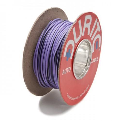 Wire 14/0.30mm Purple/Black (per metre) image #1