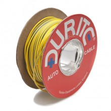 Wire 14/0.30mm Yellow/Blue (per metre)