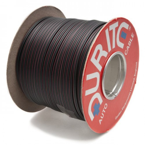 Twin Speaker Cable 6 amps Black and Black/Red (per metre) image #1