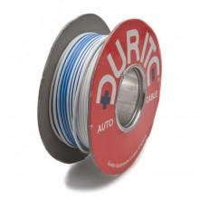 Wire 14/0.30mm White/Blue (per metre)