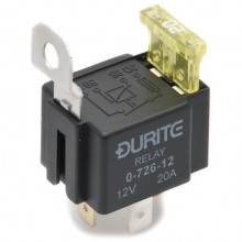 12v 15a Normally Open Fused Mini Relay