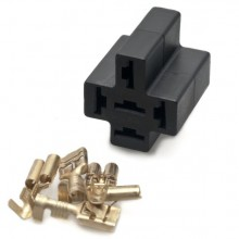 Relay Socket including Connectors