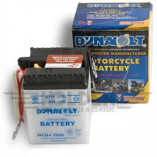 Motorcycle Battery type 6N4-2A-4 image #1