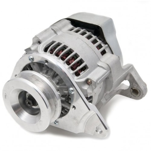 Lucas Type Multi-mount Alternator 12V Negative Earth image #1