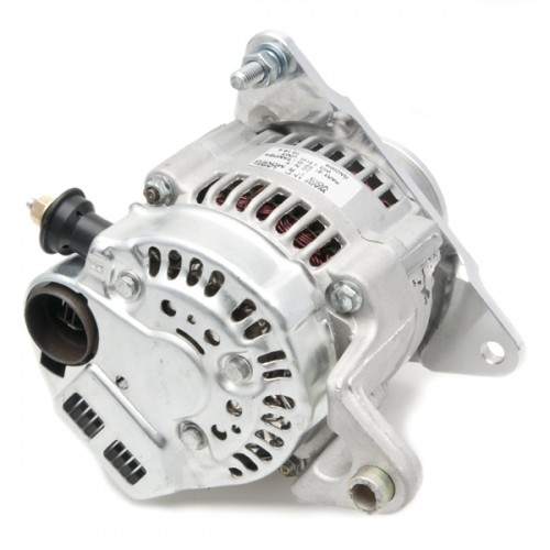 Lucas Type Multi-mount Alternator 12V Negative Earth image #2